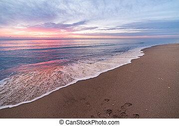 flórida, amanhecer