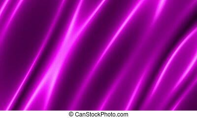 flüssigkeit, neon, rosa, belebt, schlingen, scheinen, ...