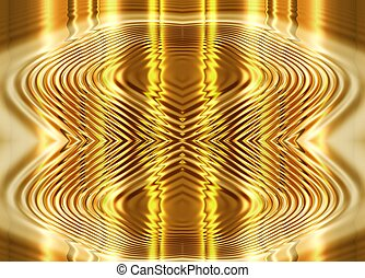 flüssiglkeit, abstrakt, gold, hintergrund