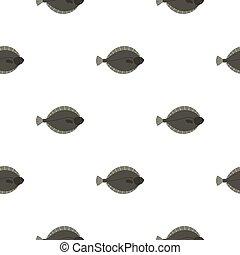 flądra,  fish,  seamless, próbka