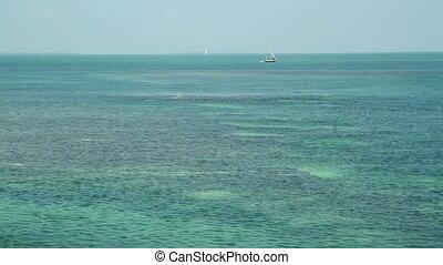 Fl Keys Open Water Sail Boat