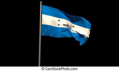 fl, onduler, drapeau national, honduras