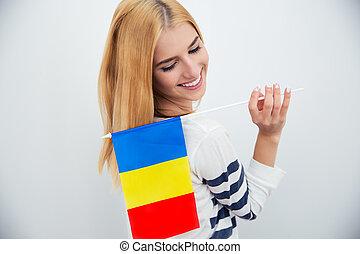 fla, roumaine, tenue femme