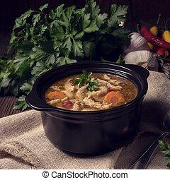 flaczki-, tripa, sopa