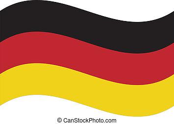 flag., ベクトル, ドイツ