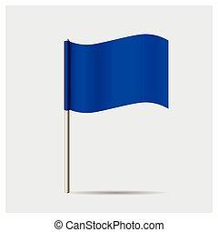 flag., ベクトル, illustration.