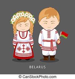 flag., 国民の 服, belarusians