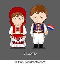 flag., 国民の 服, croats