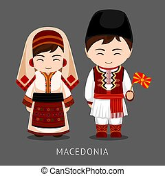 flag., 国民の 服, macedonians