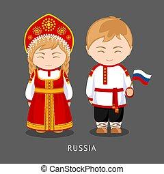 flag., 国民の 服, russians