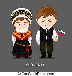flag., 国民の 服, slovenes