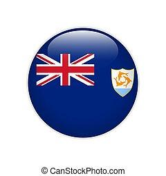 Flag Anguilla button