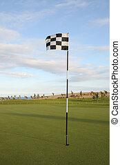 Flag at Coastal Golf Course