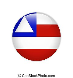 Flag Bahia on button
