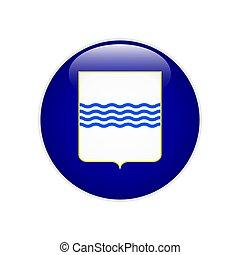 Flag Basilicata button