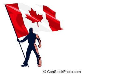 Flag Bearer Canada