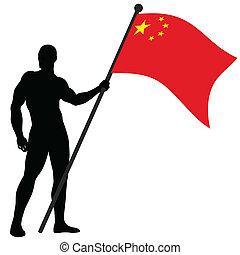 Flag Bearer_China