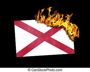 Flag burning - Alabama