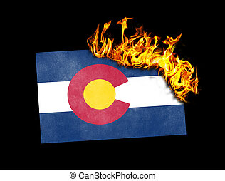 Flag burning - Colorado