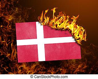 Flag burning - Denmark
