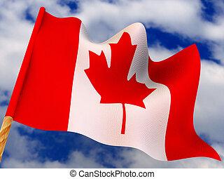 Flag. Canada