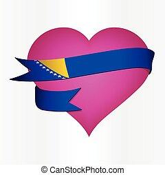 Bosnia and Herzegovina Valentine's Card