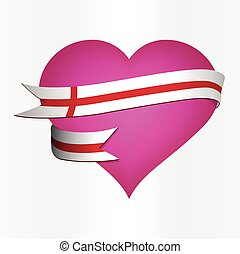 England Valentine's Card