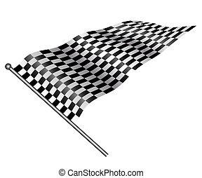 flag., checkered
