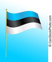 Flag - Estonia 2
