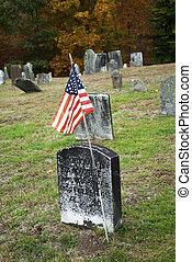 Flag for an American War Hero