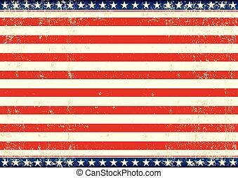 flag, horisontale, os