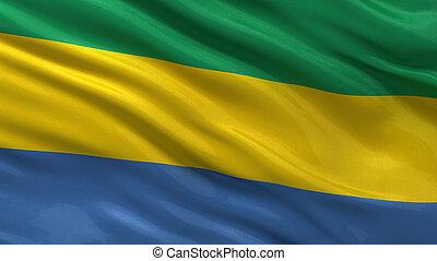 flag, i, gabon