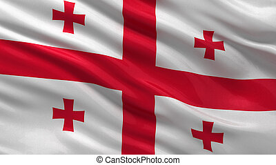 flag, i, georgia