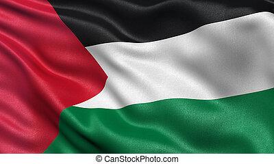 flag, i, palæstina
