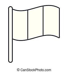 flag icon cartoon