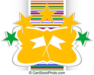 flag icon set, internet web design element