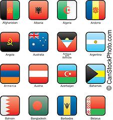 Flag icon set (part 1)