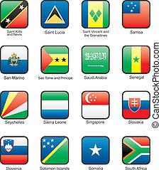 Flag icon set (part 10)