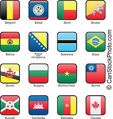 Flag icon set (part 2)