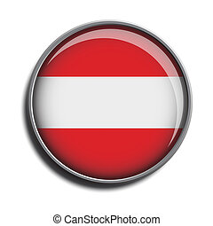flag icon web button austria