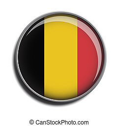 flag icon web button belgium