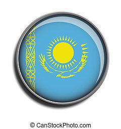 flag icon web button kazakhstan