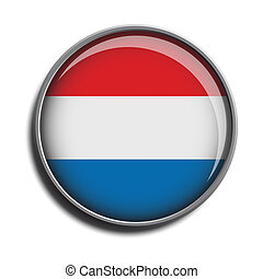flag icon web button netherlands