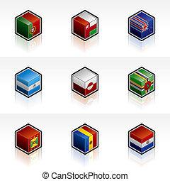 Flag Icons Set - Design Elements 56u, it's a high resolution...