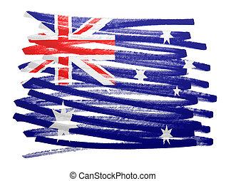 Flag illustration - Australia