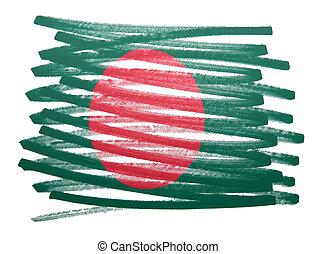 Flag illustration - Bangladesh