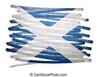 Flag illustration - Scotland