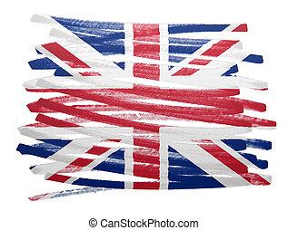Flag illustration - UK