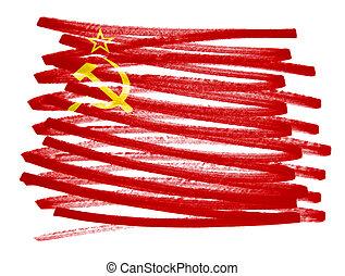 Flag illustration - USSR