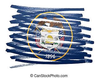 Flag illustration - Utah